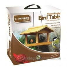 Kingfisher Bird–Bird Table Bois suspendus - B0062A29ME