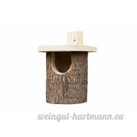 Wildlife World Nichoir Rouge Gorges en Bouleau Argenté - B0010E80LQ