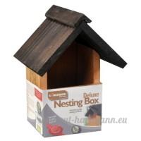 Kingfisher Nichoir en bois Deluxe pour Wild & Garden Mangeoire Nichoir à suspendre neuf - B00KNSOOY2