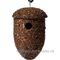 dobar 37150FSC Maison pour oiseaux  nichoir en forme de chêne pour oiseaux  marron - B016O9GYLY