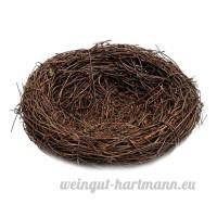 Homyl Nid d'oiseau Cage Sauvages Oiseaux pour Petit Animal Domestique Artisanat Suspendus - 30 cm - B07BCHTTM6