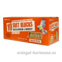 Suet To Go ténébrion mat & Insect Bloquer Value Pack 10pk - B00HCMWP1Q