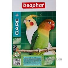 Beaphar Care+ alimentation super premium - grandes et moyennes perruches - 500 g - B00BH1O9IU