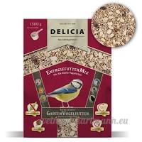 Delicia Doublure Doublure énergie Mix d'Hiver pour oiseaux sauvages  1 5kg - B01MAY4U24