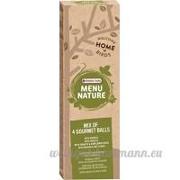 4 boules de graisse saveur mélangée pour oiseaux sauvages Versele Laga Menu Nature avec distributeur - B077QGQ7GJ