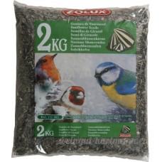 Graines de tournesol sac de 2 kg pour oiseaux de la nature/ZOLUX - B00ABW8R2U