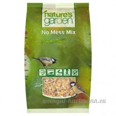 NATURES GARDEN Mélange de graines décortiqués pour Oiseaux 1.25 kg - B005G9U1A4