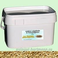 Litière végétale à l'eucalyptus - 4 kg - B01LYSTTY8