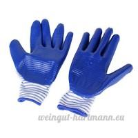 Gants de Protection Anti Morsure pour Hamster Bleu - B00XJD0IL6