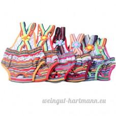 Culotte Hygiénique Pantalon Couche Bretelles pour chienne femelle coloris aléatoire - B00X3EBD1A