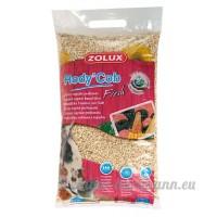 Rody'Cob Litière végétale parfumée mûre-litchi sac de 5 litres/ZOLUX - B009E6WWEI