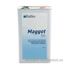 Battles Maggot huile - 4.5 LITRE - AGRICULTURE agriculture bétail Fournitures - B00VV8TODO