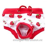 Culotte sanitaire physiologique pas très cher pour chienne animal femelle - B00ZR3F84I