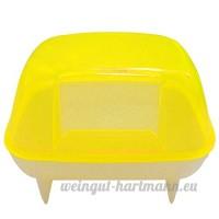 Reefa Salle de bain Toilettage pour Petit Animal: Hamster etc - B07D1K6C4Z