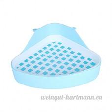 Estink Toilettes pour Hamster  Toilettes Triangulaire Toilettes pour Toilettage pour Petit Animaux de Compagnie(Bleu) - B07CVQ261S