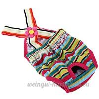 Bretelle Pantalon Hygiéniques pour Petit Chien Harnais de Levage de Chien - B07BGC44ZV