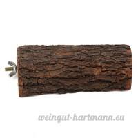 15cm Perchoir Plateforme Bois écureuil Perroquet pour Cage D'oiseau Reposer - B01MQKCR79