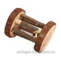 Mini jouet à mâcher en bois pour les dents de lapin  chinchilla  hamster  animal domestique - B075RYL789