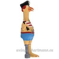 Westminster Pet Jouet pour chien  poulet en caoutchouc Captain Jack - B0017JJXKQ