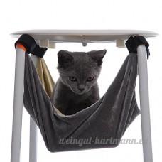 Hamac pour Chat Lapin Furet Réglable Disponibles Hamac de chat Lit de hamac de chat doux chaud et confortable Pet Hamac Utilisation avec chaise  furet  chiot ou petit animal de compagnie - B07559X5DC