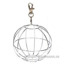 TOOGOO(R)Futterball Kugel Metall Nager pour Hase Meerschweinchen Kaninchen Chinchillas Hamster - B01M8NLYKU