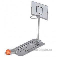 Uchic Mini pliable de table à ressort Bureau de jeu de basket jouet Intérieur ou extérieur Fun Sports Jeu insolite ou idée de cadeau Gag - B0779S68JR