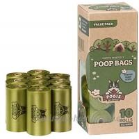 Sacs Pogi's pour Déjections Canines - 10 Rouleaux (150 Sacs) - Grands  Biodégradables  Parfumés  Etanches - B00ISBWVT6