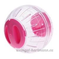non-brand MagiDeal Jouets Hamster Boule Rotative Course Exercice pour Petit Animaux Transparent - B07DGBR69C