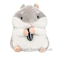 Animal Kid poupée/jouets en peluche  Y56Dessin animé en peluche 23cm/23cm Cute Adorable Kawaii Fluffy Hamster en peluche Animal doux en peluche en peluche animé Animal poupée Cadeau pour Kiids Baby Doll - B07BHK5Q6R