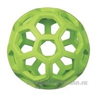 Balle en caoutchouc JW Pet Hol-ee Roller Small - Ø 8 7 cm - Coloris aléatoire : bleu  vert ou rouge - Pour chien - B01LZ51DMR