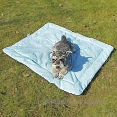 FeiNianJSh Le chat imperméable d'animal familier et la voiture d'animal familier de tapis de chien voyageant des activités extérieures et portatives avec le sac de stockage (Color : Blue) - B07BDH1X3Y