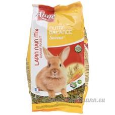 Aime Nourriture Nutri'Balance Savour Mix Lapin Nain 900 G pour Petits Animaux - Lot de 4 - B010G03LI6