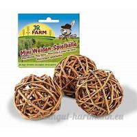 JR Mr. Woodfield Mini Weiden-Spielball 3 Stück 20g - B0040TQFCE