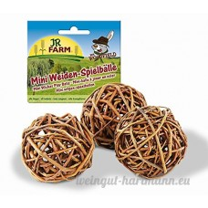 JR Mr. Woodfield Mini Weiden-Spielball 3 Stück 20g - B0040TQFCE