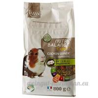 Aime Nourriture Nutri'Balance Expert Cochon D'inde 800 G pour Petits Animaux - Lot de 3 - B010G03SCA