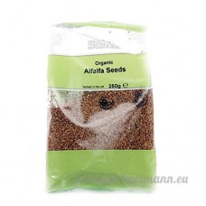 Suma Prepacks - Organic   Alfalfa seeds - organic   2 x 6 x 250g - B0758MD1VS