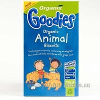 Organix | Animal Biscuits | 4 x 100g - B0758JDZ8D
