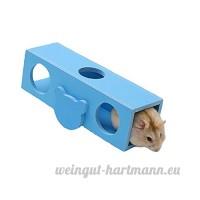 Tunnel balançoire en bois pour hamster cochons d'Inde et lapins - B071S49KK7