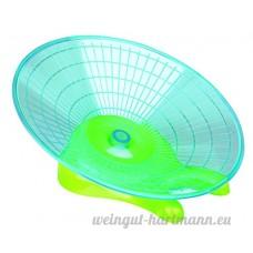 Disque d'exercice pour degus  chinchillas  rats  ø 30 cm - souple pour le dos grâce à l'aire de course plate - B0089DCAXA