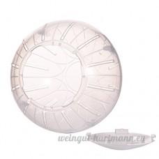 Balle d'exercice en Plastique pour Hamster Mammifères pour Animaux Domestiques Rongeurs Gerbil Rat Jouer au Jouet Par Awhao Transparent - B071VWVBVF