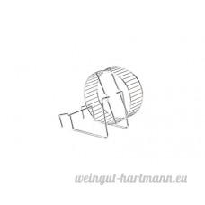 BEEZTEES Roue d'Exercice en Métal pour Hamster 12 cm - B00N65BDV6