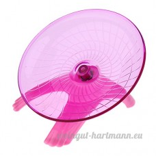 Homyl Roue d'Exercice Plastique pour Hamster 18cm - B078XQ4SQW