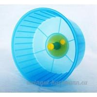 Roue d'exercice pour hamster nain Souris en bleu 12cm - B01HU1NRYC