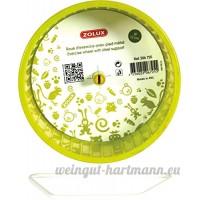 Zolux Roue Pied en Métal pour Petit Mammifère Vert 12 cm - B00SJ0L5FW