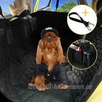 Housse de siège Pour Chien - Voiture Protection pour Voiture de Chien avec siège réglable et ceinture de sécurité Universelle Pour Voiture Camion SUV - Vendu Par Hokonui - B073F9FSN6