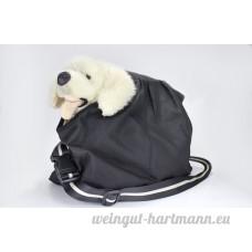 Sac de transport bandoulière pour chien  pour les chiots jusqu'à 4kg  couleur: noir - B009ZWD2OK