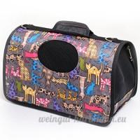Zhhlaixing sac de transport pour chien ou Chats pour animal de compagnie Sac à main de transport avec intérieur doux et respirable Waterproof Shoulder Bag Pet Car Seat - B079JP2R9M