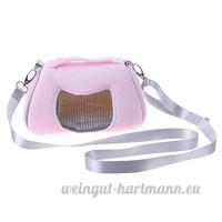 Demiawaking Portable pour animal domestique Bandoulière Sac de transport pour hamster Rat Hérisson chinchilla Furet Pochette Sac de transport pour petits animaux - B07B8N943L