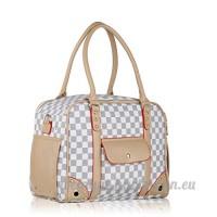 BELLAMORE Sac de transport pour chiens sac pour chats chiens sac de voyage animal grand sac de transport pour animal domestique jusqu'à 5 kg 40*30*20 cm - B074NZN372