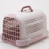 YAOBAO Cage De Voyage De Chats De Chenil D'animal Familier Approuvé Par Ligne Aérienne De Chenil En Plastique D'animal Familier - B07DGP8DVJ